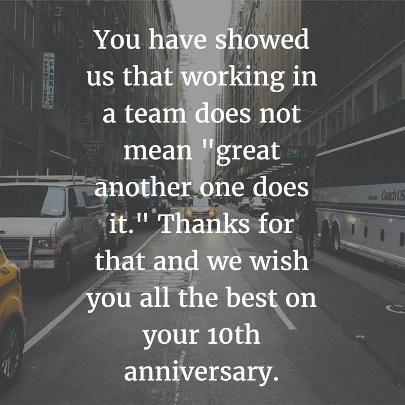 Work anniversary quotes for years enkiquotes