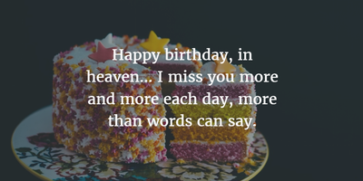 30 Sweet Birthday Quotes For Dead Husband Enkiquotes