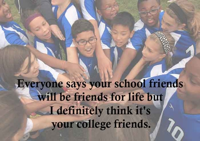 great quotes about school friends enkiquotes