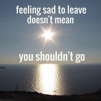 Moving quotes sad away Top 75