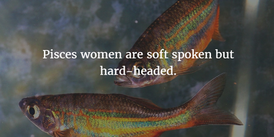 Pisces Woman Quotes and Sayings to Help You Know Them Better ...
