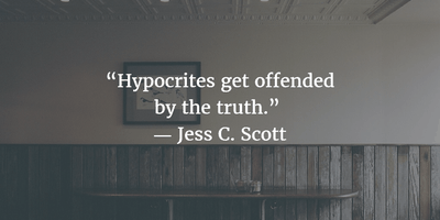 30 Famous Quotes About Hypocrisy - EnkiQuotes