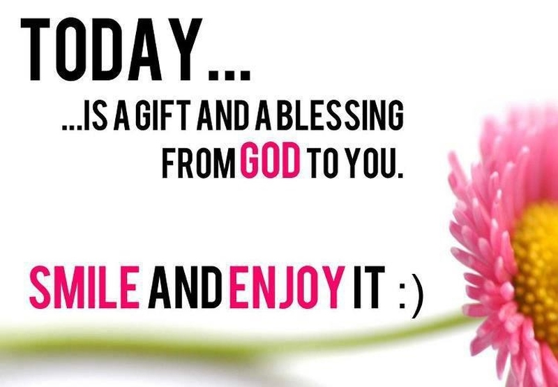 "You Are A Blessing Quotes Unique Everyday Is A Blessing Quotes"" To Celebrate Life  Enkiquotes"