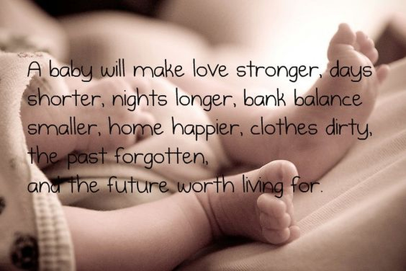 Newborn Baby Quotes Exciting Baby Arrival Quotes For A New Beginning  Enkiquotes