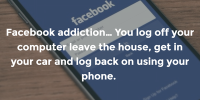 Funny Facebook Addiction Quotes To Make You Think Enkiquotes