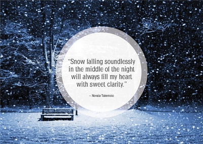 Clever Quotes about Winter's Beauty and Harshness   EnkiQuotes