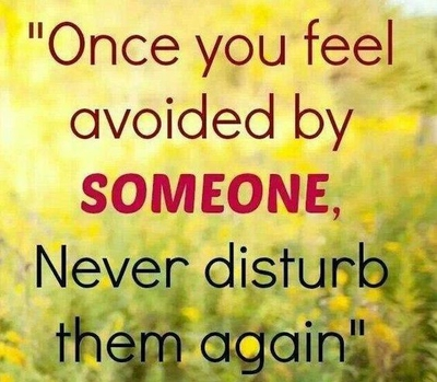 Learn To Move On With These Being Ignored Quotes Enkiquotes