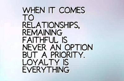 Loyalty in Relationships Quotes For Couples - EnkiQuotes