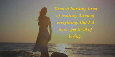 Top 20 Quotes about Getting Tired Of Waiting - EnkiQuotes