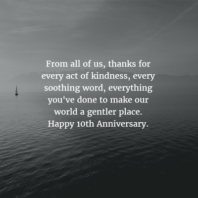 Work anniversary quotes for 10 years enkiquotes thank you for the help provided and all the fun colourmoves