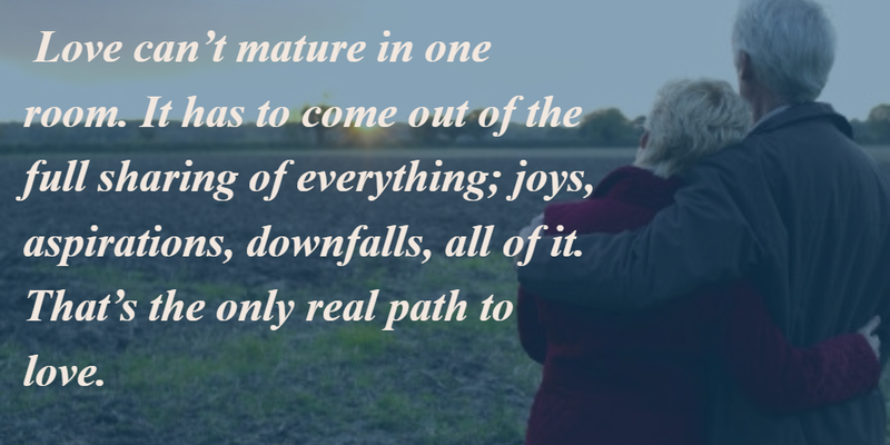 Together Love Quotes Magnificent 25 Heart Touching Growing Old Together Quotes  Enkiquotes