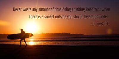 Stop And Enjoy The Moment With These Beautiful Sunset Quotes
