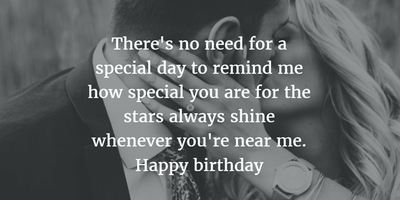 Happy Birthday Quotes For Boyfriend 26 Romantic Birthday Quotes for Boyfriend   EnkiQuotes Happy Birthday Quotes For Boyfriend