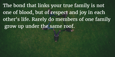 25 Thought-Provoking Quotes About Family Not Being Blood ...