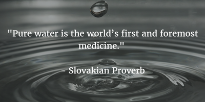 Quotes About Drinking Water to Give You A Reason - EnkiQuotes