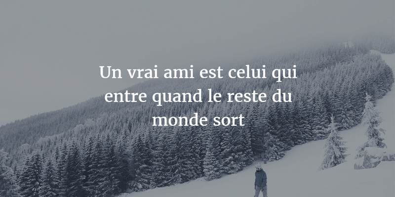 French Quotes About Friendship Beauteous Memorable French Quotes About Friendship  Enkiquotes