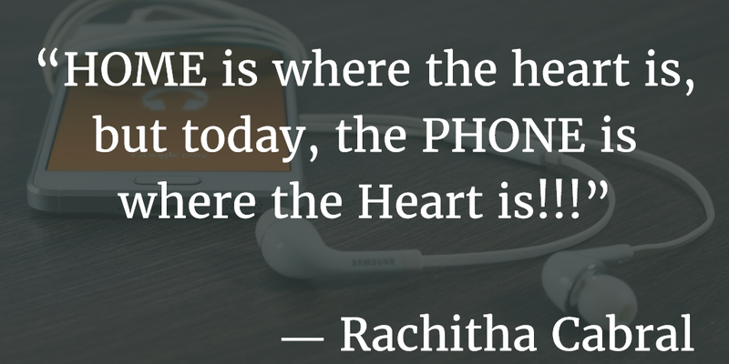 Cell Phone Quotes Amusing Living In A Smart Phone World Quotes About Cell Phones Addiction
