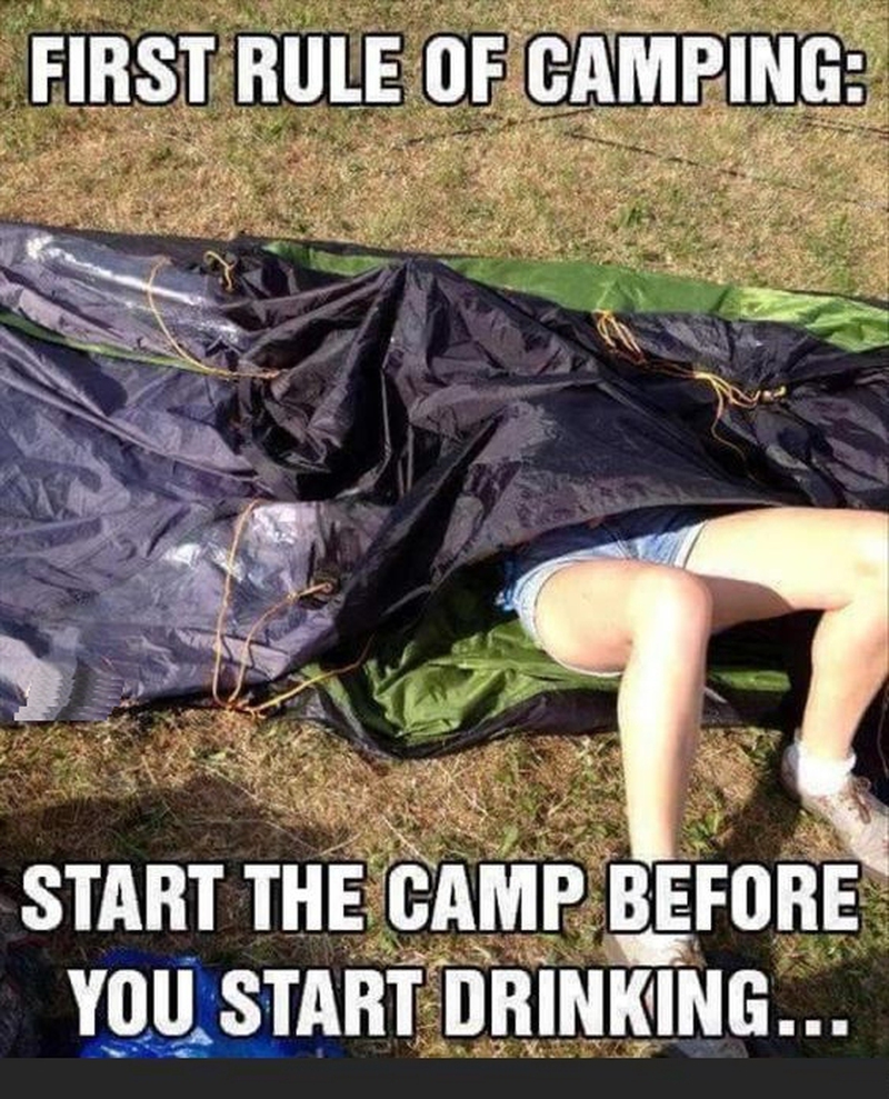 Quotes Funny 30 Funny Camping Quotes  Enkiquotes