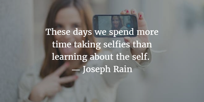 20 Funny and Serious Quotes About Selfie - EnkiQuotes