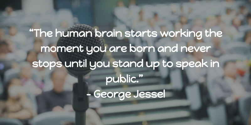 Quotes About Public Speaking Stunning 25 Public Speaking Quotes To Inspire You For Your Next Speech