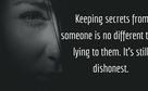 Having secrets about quotes The Amazing
