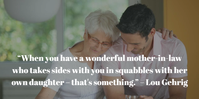 Top 25 Mother In Law Quotes Find The One You Love Enkiquotes