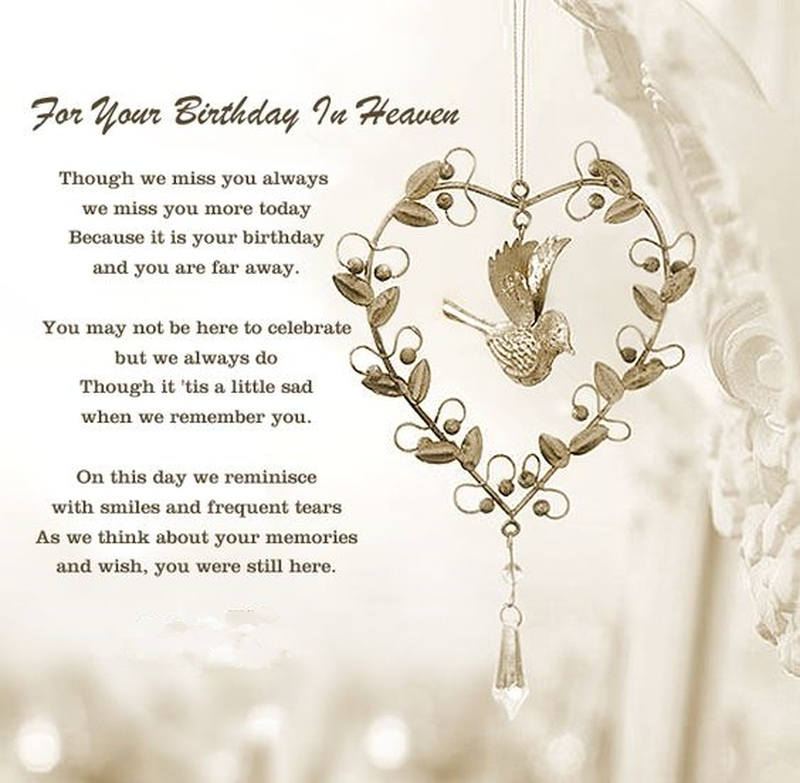 Quotes For Departed Loved Ones: Deceased Loved Ones Birthday Quotes