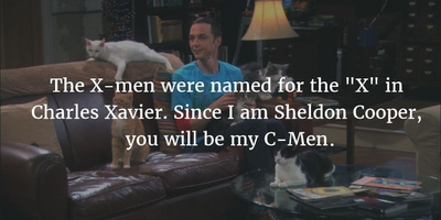 Sheldon Cooper dating Penny