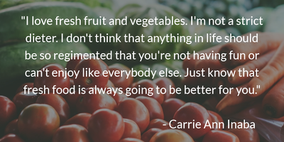 Healthy Food For A Long Life Quotes On Fruits And Vegetables