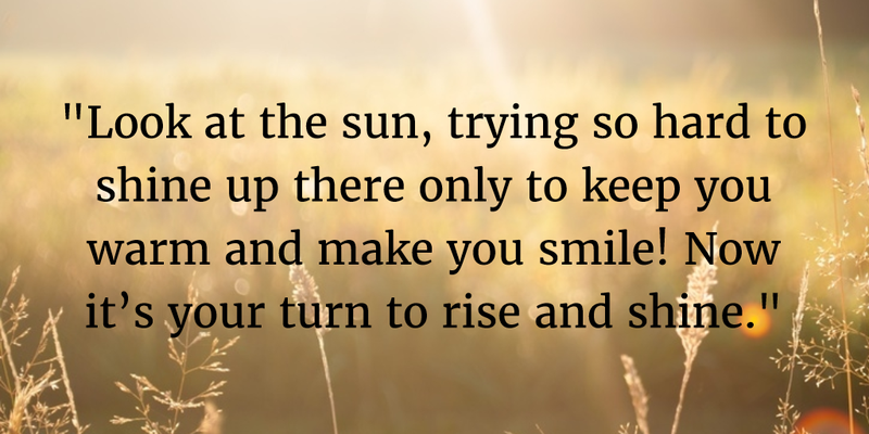 Rise And Shine Quotes Prepossessing Rise And Shine Quotes For The Good Start Of The Day  Enkiquotes