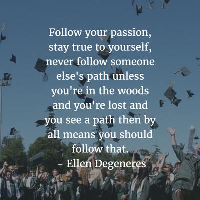 Graduation Quotes Magnificent Top 48 Inspirational High School Graduation Quotes EnkiQuotes