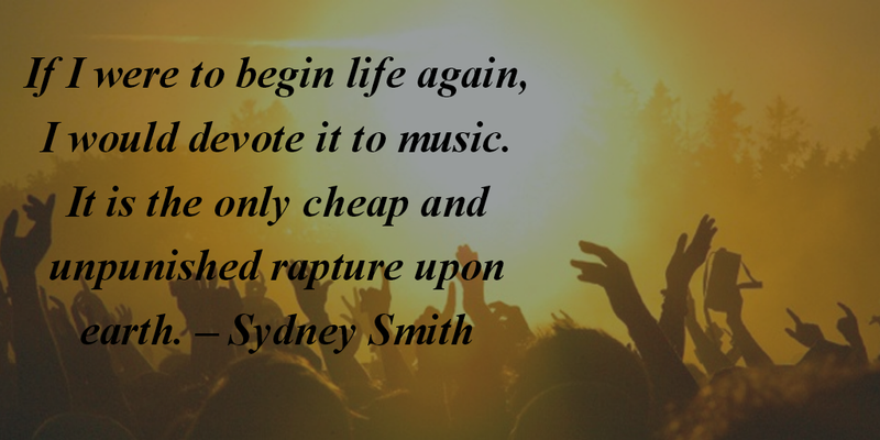 The Coolest Music Festival Quotes