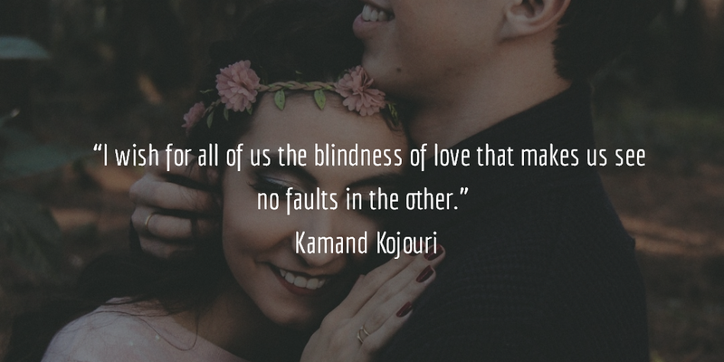 Blind Quotes Glamorous 25 Love Is Blind Quotes For All The Lovers There  Enkiquotes