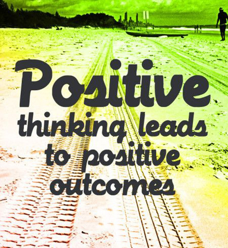 Power Of Positive Thinking Quotes Best 32 Motivational Power Of Positive Thinking Quotes  Enkiquotes