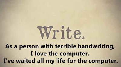 25 Quotes On Handwriting Enkiquotes
