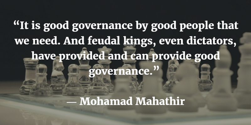 Image result for Mahathir and Good Governance