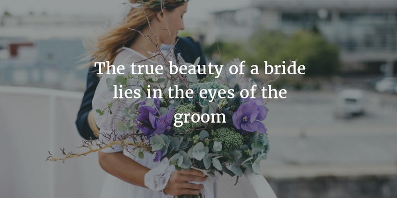 The Best Compliments You Can Pay To Beautiful Bride