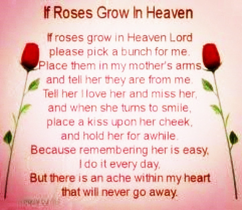 Missing My Mom In Heaven Quotes Glamorous 22 Touching Quotes For Beloved Mother's Death Anniversary  Enkiquotes