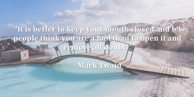 20 Quotes About Mouth To Make You Wiser Enkiquotes