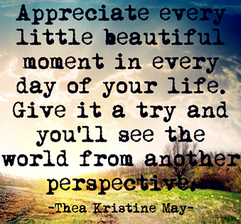 Appreciate Little Things In Life Quotes And Quotes About