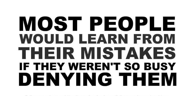 Don,t Make Mistakes