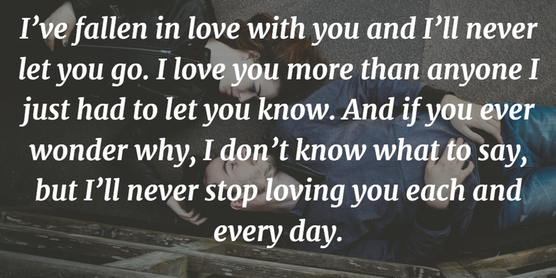 "Quotes About How Much I Love You Awesome The Most Romantic Quotes To Express ""i Love You""  Enkiquotes"