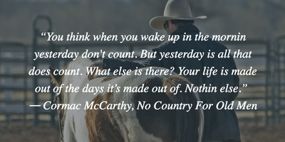 Top 25 No Country for Old Men Quotes - EnkiQuotes