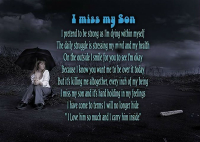 21 Quotes on Loss of Son That Will Touch Your Heart - EnkiQuotes