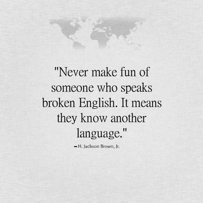 The Power Of Spoken Word Language Quotes And Sayings Enkiquotes