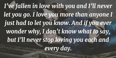 The Most Romantic Quotes To Express I Love You Enkiquotes