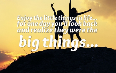 22 Finding The Joy In Little Things Quotes Enkiquotes
