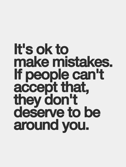 30 Inspirational Mistake Quotes and Sayings for Moving on in ...