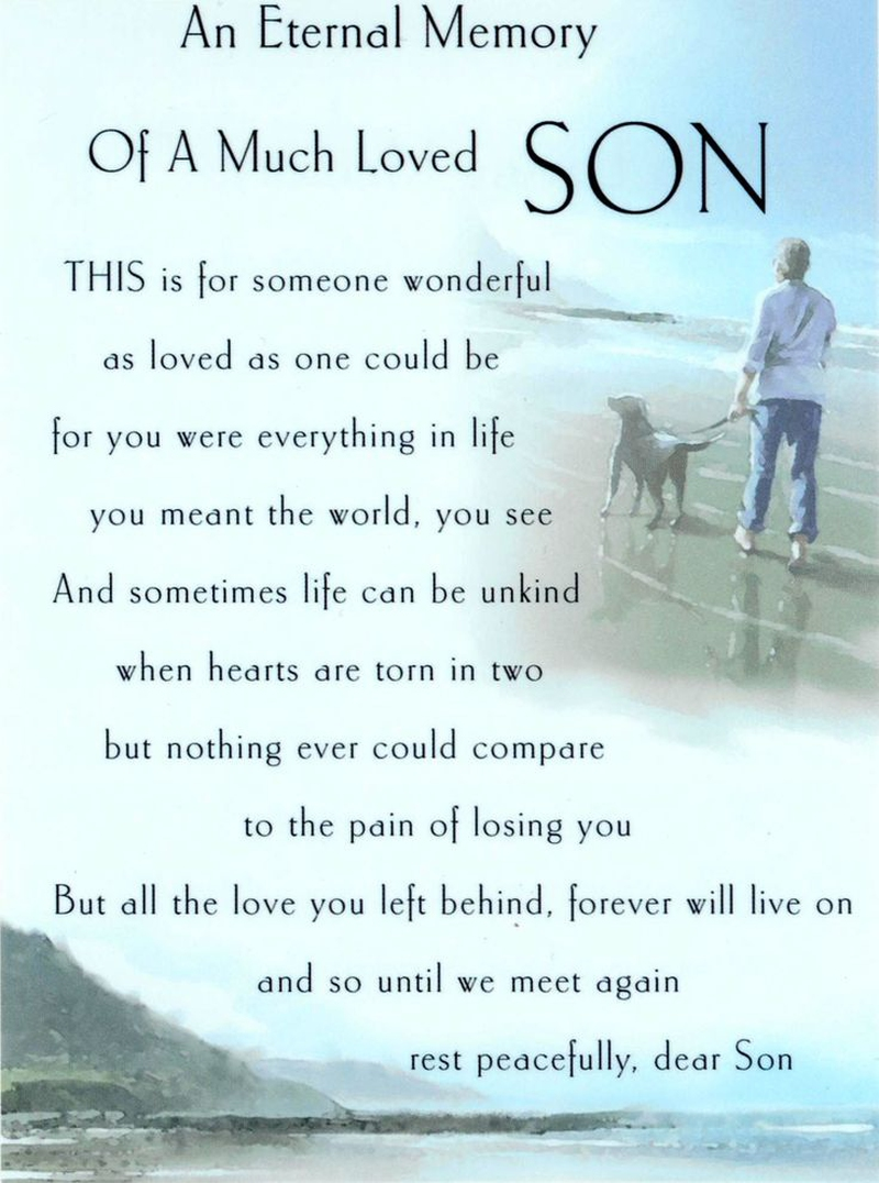 Quotes On Loss 21 Quotes On Loss Of Son That Will Touch Your Heart  Enkiquotes