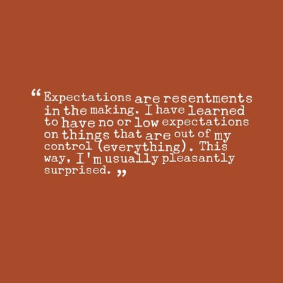 30 Memorable Quotes On Expectations Enkiquotes